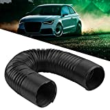 Car Air Intake Pipe, Universal Car Modified Air Intake Flexible Expansion Pipe Ducting Hose - 63mm/2.5inch