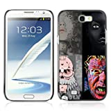 CelebrityCase Polycarbonate Hard Back Case Cover for Samsung Galaxy Note 2 II ( Abstract 3 )