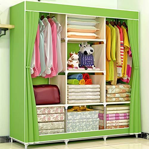 Omabeta Kleiderschrank mit großer Kapazität Feuchtigkeitsbeständiger Vlies, waschbar für Schlafzimmer