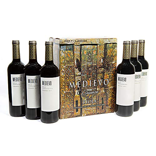 Vino Tinto Rioja Medievo Crianza   6 Botellas