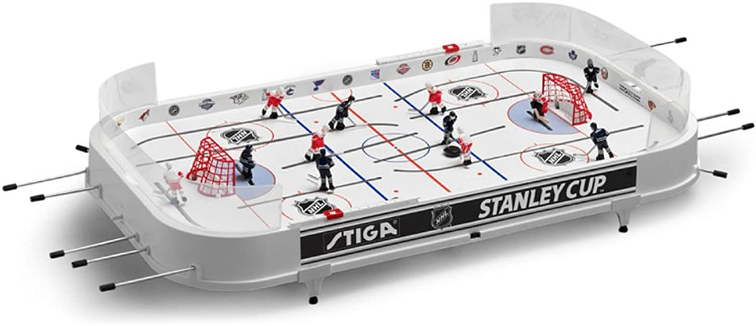 Stiga NHL Stanley Cup Table Hockey Game Tgoldnto Maple Leafs and Montreal Canadiens