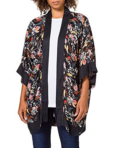 ESPRIT Kimono mit Print aus TENCEL™ Modal