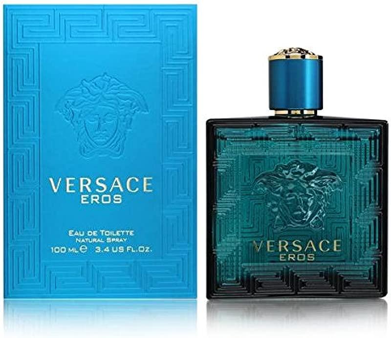 Versace Eros Eau De Toilette Spray For Men 3 4 Ounce