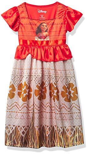 Disney Girls' Toddler Fantasy Gown, Moana Ocean Princess 3, 3T
