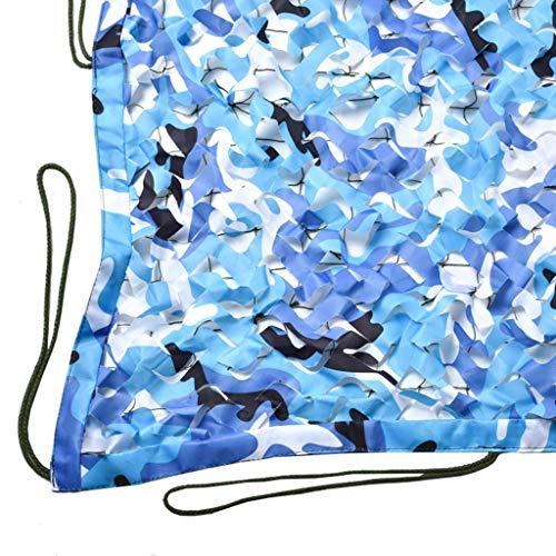ZHJBD camouflagennet, zonnebescherming, net voor de jacht van de rolluiken, tactisch net voor jacht, zonwering, zonwering 6x6m