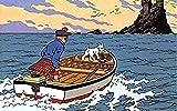 YTYTOO Premium Poster,Leinwand Wandkunst Bild Abenteuer Von