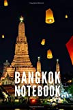 Bangkok Notebook: City Tourist Travel Guide, Blank Lined Ruled Writing Notebook 108 Pages 6x9 inches