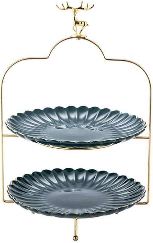 TEAYASON Modern Ceramic Fruit Bowls Genuine Nordic Nippon regular agency Basket Double M