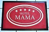 HANSE Home Felpudo ('Hotel Mama', 40cmx60cm, Lavable, Suciedad Felpudo