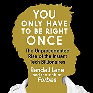 You Only Have to Be Right Once audiobook cover art