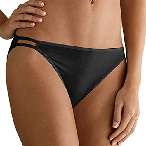 Hanes Women's 6 Pack Smooth & Invisible Bikini,size 5