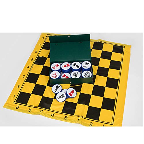 William 337 Schach Schach, Schachbrett Set, tragbare magnetische Unterrichtshilfen, weiche Tuch Tafel Aufkleber, Kunststoff Aufbewahrungsbox Spielzeug