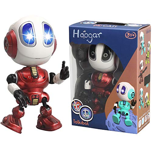 Hoogar Talking Robots for Kids and Adults, Cool Robot Toys for Age 3 4 5 6 7 8+ Year Old Boys Girls, Birthday Gifts for Kids, Voice Recording, Repeat What You Say