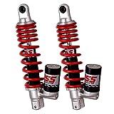 YSS Suspension - Juego de amortiguadores para suspensiones YSS, para moto, gas de botella Eco Line- 40266