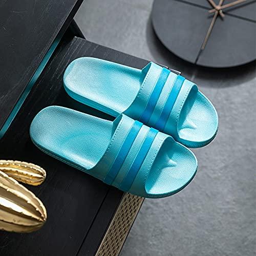 Kirin-1 Chanclas niña Verano,Baño Antideslizante Suave Suave Zapatos de casa de Verano Sandalias de Sandalias de Verano zapatillas-44-45_marrón