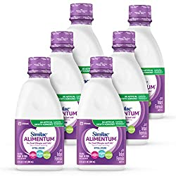 in budget affordable Similac Alimentum hypoallergenic formula, iron, DHA / ARA, ready to drink, 1 qt (6 packs)