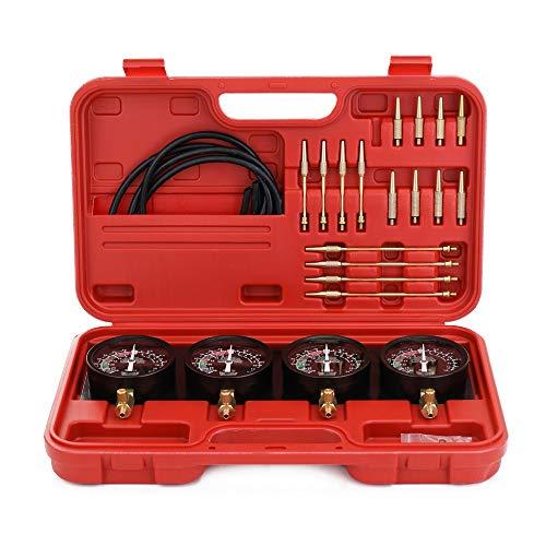 Professioneller tragbarer Brennstoff-Vakuum-Vergaser-Synchronisierer Set 4-Messgeräte-Werkzeugkit für Motorrad-Auto Universal-Auto-Styling