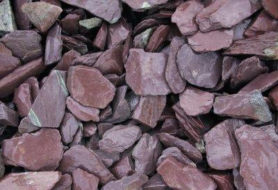 Schieferplättchen Prove 30-50 (dunkel violett) 25 kg
