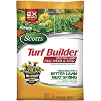 43-Lb Scotts Turf Builder Winterguard Fall Weed and Feed (15,000 Sq. Ft.)