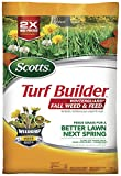 1. Scotts Turf Builder WinterGuard Fall Weed & Feed 3, 5,000 sq. ft.