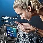 Fashion Shopping ENACFIRE Smart Watch, W2 GPS Fitness Tracker IP68 Waterproof Smartwatch, Heart Rate