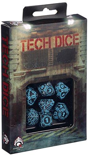 Tech Dice Nero-Blu Dadi Set