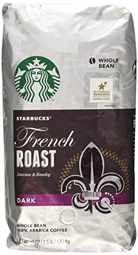 Starbucks French Roast Dark Whole Bean Coffee - 2 - 40 Oz Pack