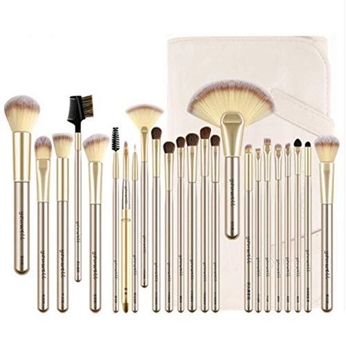 Goddess Professionelles 24 Make-up Pinsel-Set, Bleaching-Pinsel für Textmarker, geeignet für das Ankleidezimmer des Darstellers