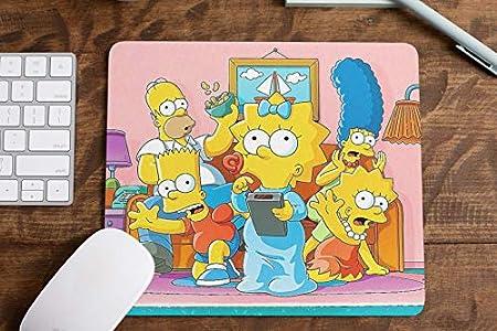 Luckygrafic Alfombrilla ratón Simpson