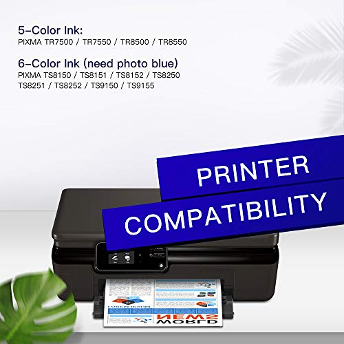 GPC Image PGI-580 CLI-581 XXL Patronen Kompatibel für Canon 580 581 Druckerpatronen Kompatibel für Canon TR8550 TS6150 TS6250 TS8250 TS8150 TR7550 TS9550 TS6151 TS9155 TR8500 TS8251 TS705 (5-Pack)