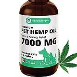 Organic Pet Hemp Oil for - Dogs & Cats (7000MG / 60mL) Made