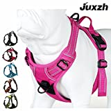JUXZH Soft Dog Harness .3M Reflective No Pull Harness with handle and...