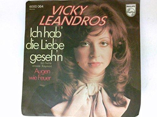 Ich hab' die Liebe geseh'n / Augen wie Feuer [Vinyl-Single 45rpm] Philips 6000064