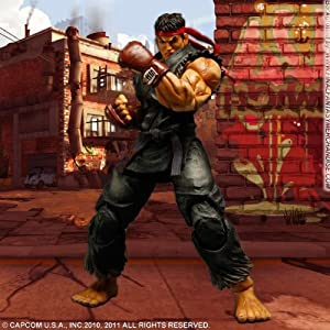 Super Street Fighter Iv Evil Ryu Black Variant Play Arts Kai