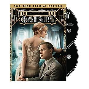 The Great Gatsby DVD Leonardo Dicaprio