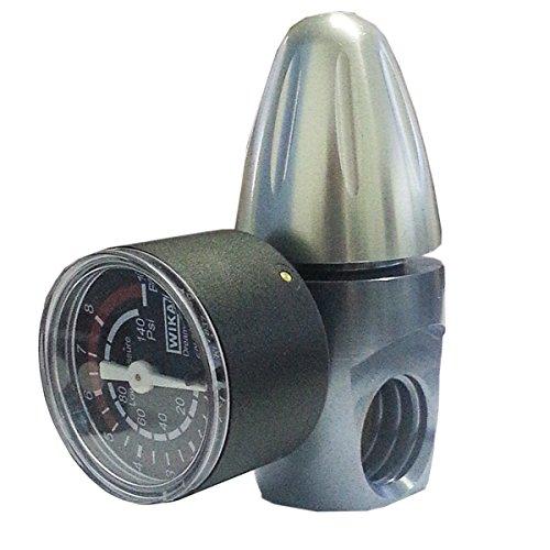"""Riduttore Di Pressione Co2 ForHome® Per Bombole Da 450Gr O Da 1Kg Ricaricabili Attacco Acme Out Filetto 1/8"""" F. Nptf."""