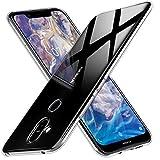Peakally Nokia 8.1 Case, Soft TPU Transparent Protector