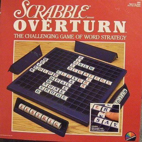 deportes calientes Scrabble Overdeurn Challenging Game of Word Strategy by Scrabble Scrabble Scrabble Overdeurn Challenging Game of Word Strategy  Envío rápido y el mejor servicio