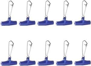 Vislijn Sinkers Slide Vislijn Connectors High Strength Braid Met Safety Snap Voor Fishing Tackle 10st