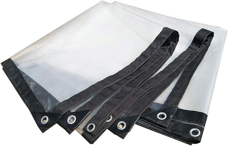 ZHANWEI Bache De Prougeection Couverture à Toute épreuve Transparent Imperméable épaissir Toile en Plastique, Taille Personnalisable (Couleur   Clair, Taille   2X10m)
