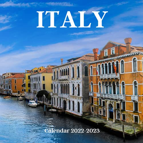 Italy Calendar 2022-2023: Italy 2022 wall Calendar, office Calendar, 18 Months.