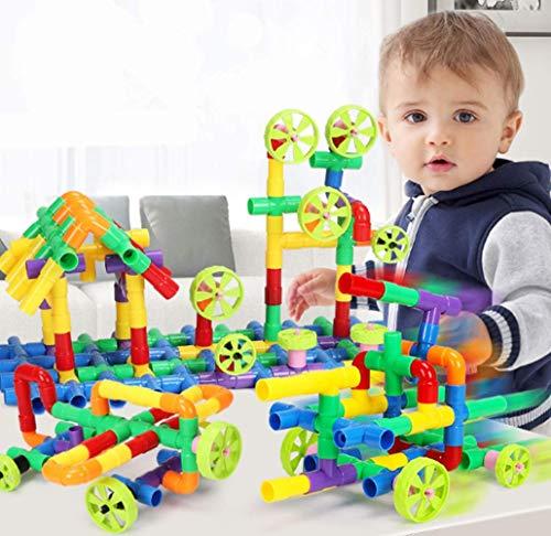 Bausteine Wasserrohr Steckspielzeug Kinderpuzzle...