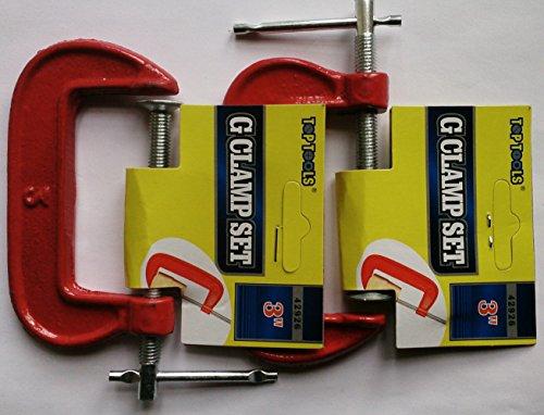 Preisvergleich Produktbild Schraubzwinge,  7, 6 cm,  2 Stück