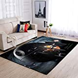 DAR-th Va-der Area Rug Carpet Star Wars Home Decor Xmas Decor Non Slip Carpets Runner Rugs for Hallway Bedroom Kitchen Stairs Living Room Indoor Floor Rugs Mat Doormat