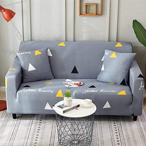 HXTSWGS Funda de sofá elástica Jacquard,Funda de sofá de Sala de Estar 1 2 3 4 Funda de Asiento, Funda de protección de sofá de Tela elástica, Funda de Asiento de sofá-Color11_190-230cm