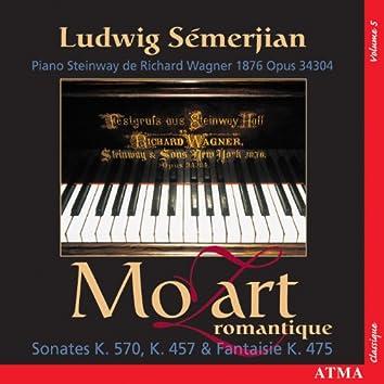 Mozart: Piano Sonatas, Vol. 5 (K. 457, 475, 570)
