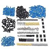 HZYM Juego de piezas de repuesto técnicas, piezas de bloqueo, pasadores, ejes, conexiones, piedras, técnica de bloques de sujeción, conectores, compatible con Lego Technic