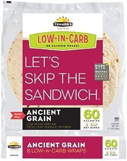 Tumaros Low-In-Carb Wraps - Ancient Grain - 8