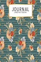 Journal Lined Notebook: Fairy Autumn Fall Fae Fairies | Blank Lined Journal | Gratitude Journal | 6