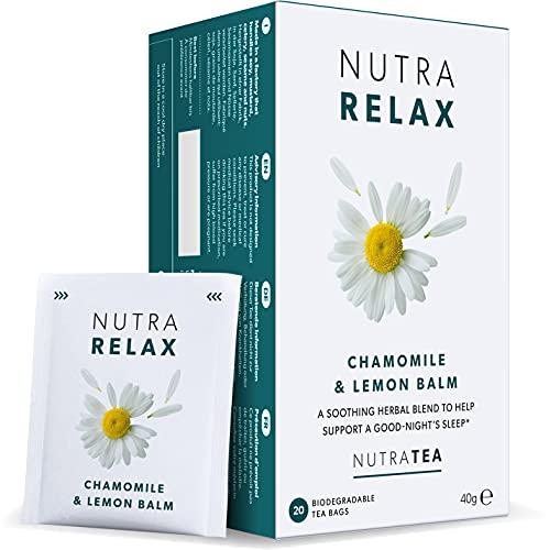 NUTRARELAX - Night Time Tea   Sleep Tea   Calm Tea - Includes Chamomile,...